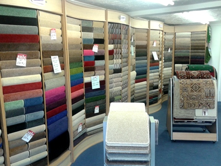 Wymondham Carpets and Blinds Showroom